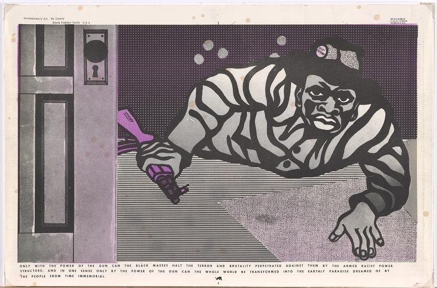 Emory Douglas's Revolutionary Newspaper Art