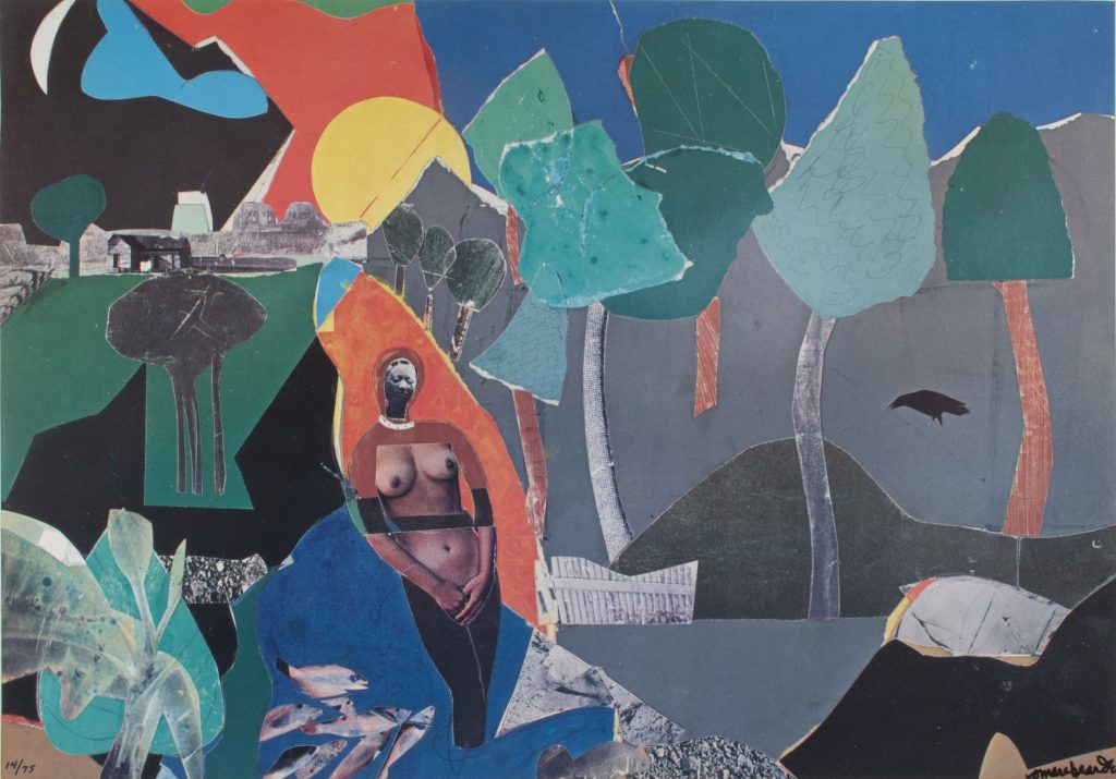 "Romare Bearden, Activism and Art ""Ritual Bayou (from the series Ritual Bayou)"""