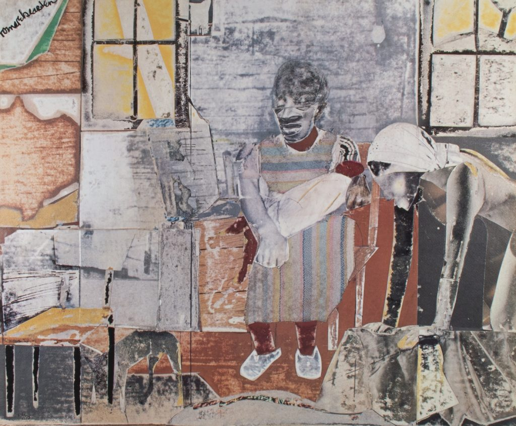"Romare Bearden, Activism and Art ""Carolina Interior (from the series Ritual Bayou)"""