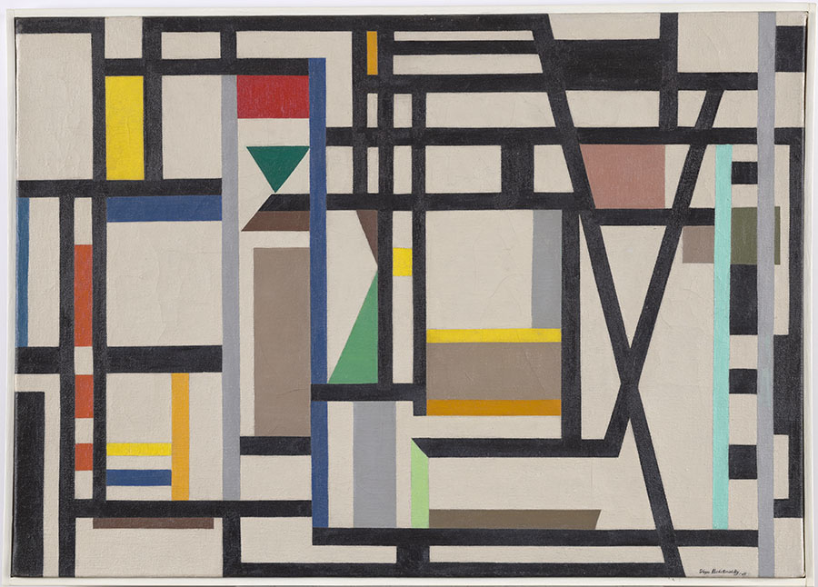 Ilya Bolotowsky, Abstraction, Cornell Fine Arts Museum, Rollins College