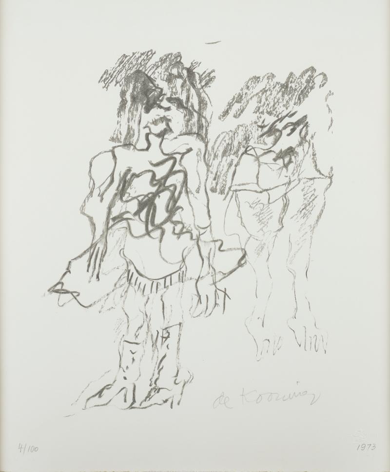 Willem de Kooning, Two Women, Cornell Fine Arts Museum, Rollins College