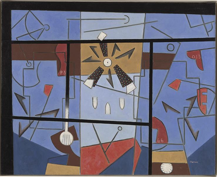 George L.K. Morris, Precision Bombing, Cornell Fine Arts Museum, Rollins College