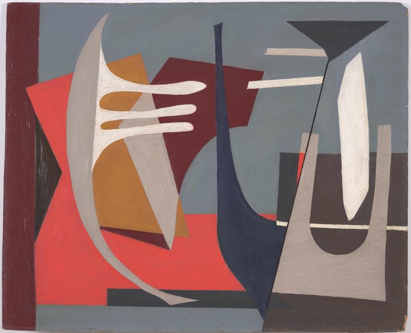 Esphyr Slobodkina, Desert Moon, Cornell Fine Arts Museum, Rollins College