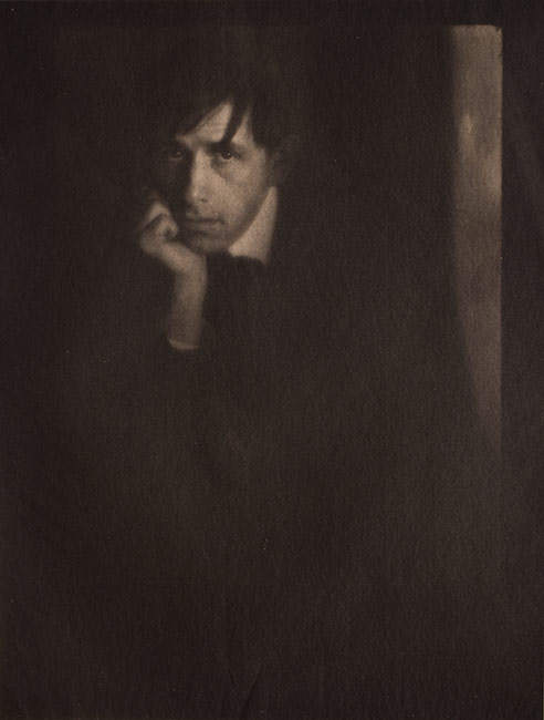 Photography as Art, Edward Steichen,  Portrait of Clarence White, Cornell Fine Arts Museum, Rollins College