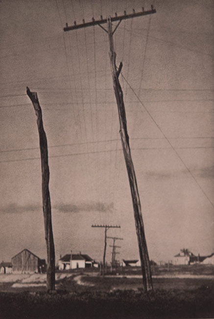 Photography as Art, Paul Strand, Telephone Poles, Cornell Fine Arts Museum, Rollins College