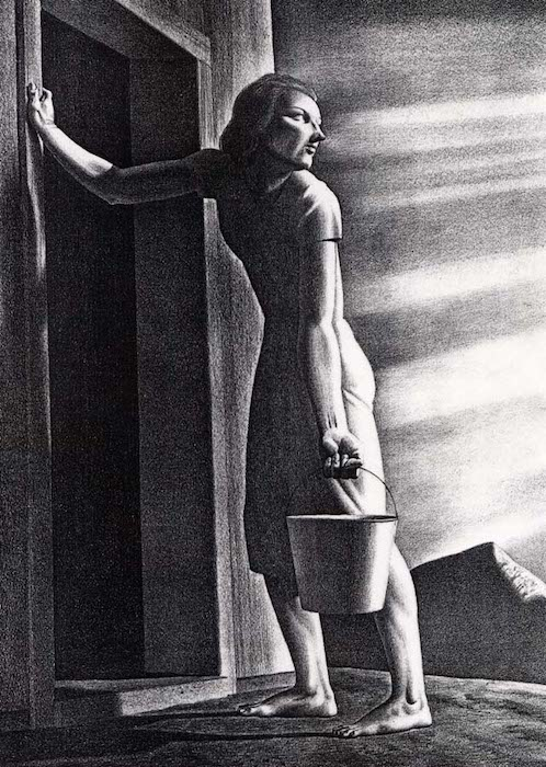 Rockwell Kent, (American, 1882-1971), Goodbye Day, Cornell Fine Arts Museum, Rollins College - Research project and the blog